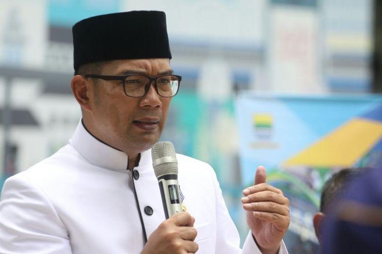 Wali Kota Bandung Ridwan Kamil saat ditemui di Taman Sejarah, Jalan Aceh, Selasa (21/11/2017).
