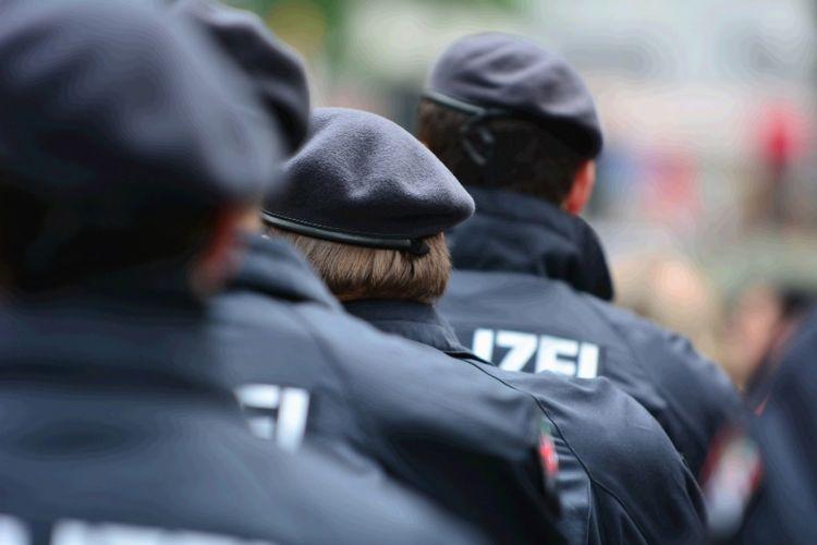 Polisi Jerman.