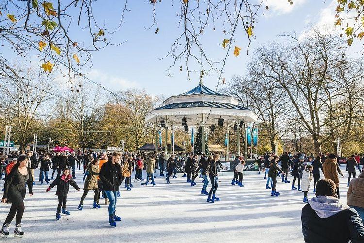 Winter Wonderland merupakan salah satu festival yang paling diburu di London pada musim dingin.