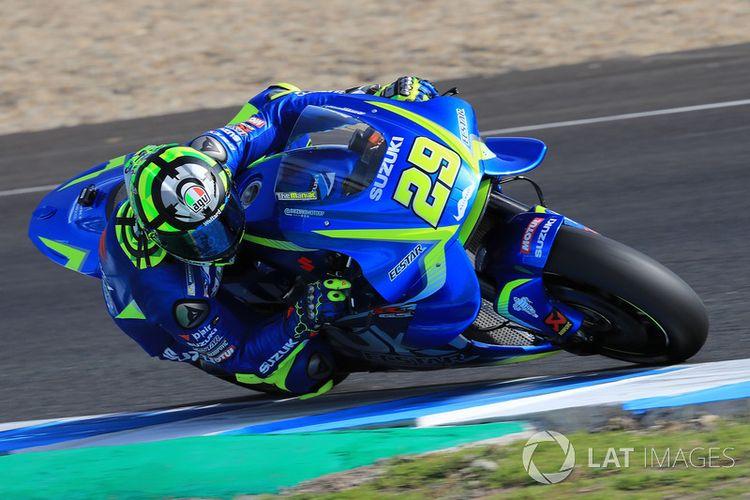 Andrea Iannone tim Suzuki MotoGP.