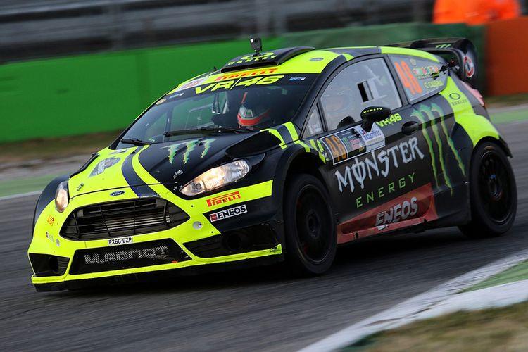 Mobil Valentino Rossi di ajang Monza Rally Show 2017