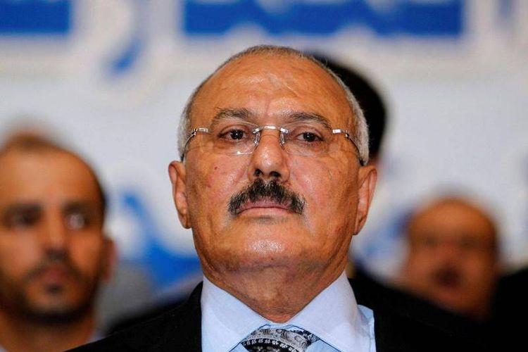 Mantan Presiden Yaman Al Abdullah Saleh yang dikabarkan tewas dalam penyerbuan pasukan milisi di Sanaa.