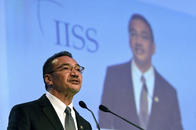 Mantan Menteri Pertahanan Malaysia Hishammuddin Hussein. (AFP/Roslan Rahman)