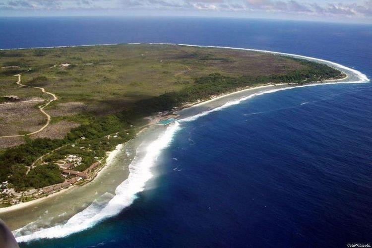 Nauru, salah satu negeri terkecil di dunia.