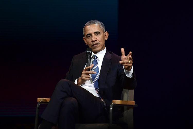 Mantan Presiden AS Barack Obama.