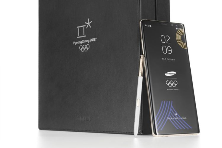 Galaxy Note 8 Olimpiade