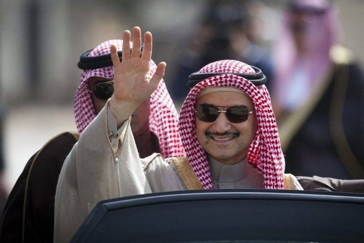 Pangeran Arab Saudi Alwaleed bin Talal. (AP Photo)