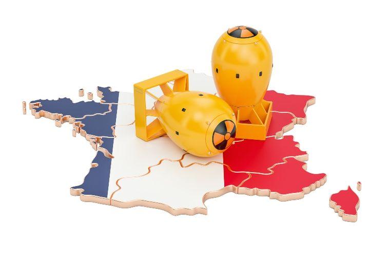 Nuklir milik Perancis.