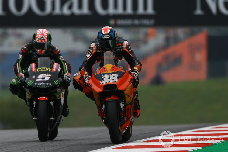 Bradley Smith Red Bull KTM Factory Racing dan Johann Zarco, Monster Yamaha Tech 3.