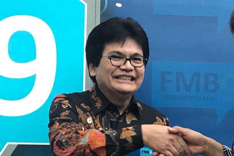 Direktur Jenderal Penyelenggaraan Pos dan Informatika Kementerian Komunikasi dan Informatika Ahmad M. Ramli.