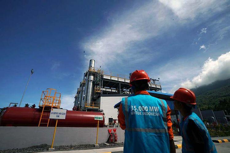 Pembangkit Listrik Tenaga Mesin Gas Mobile Power Plant (PLTG/MG MPP) Ternate, Maluku Utara berkapasitas 30 MW mulai beroperasi, Minggu (18/3/2018)