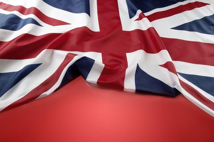 Bendera Inggris Raya alias Union Jack.