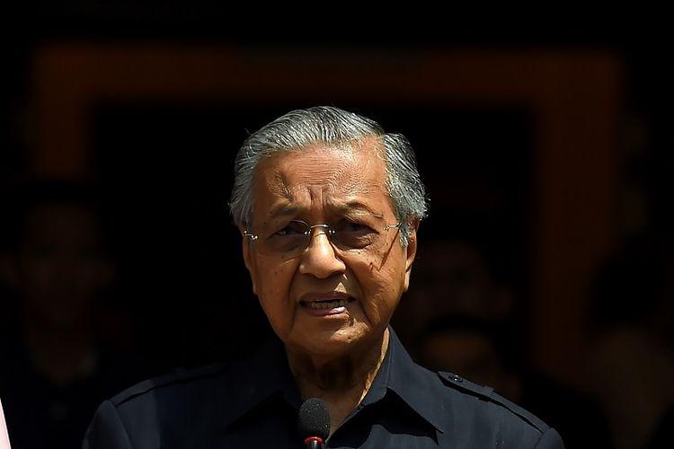 PM Malaysia Mahathir Mohamad.