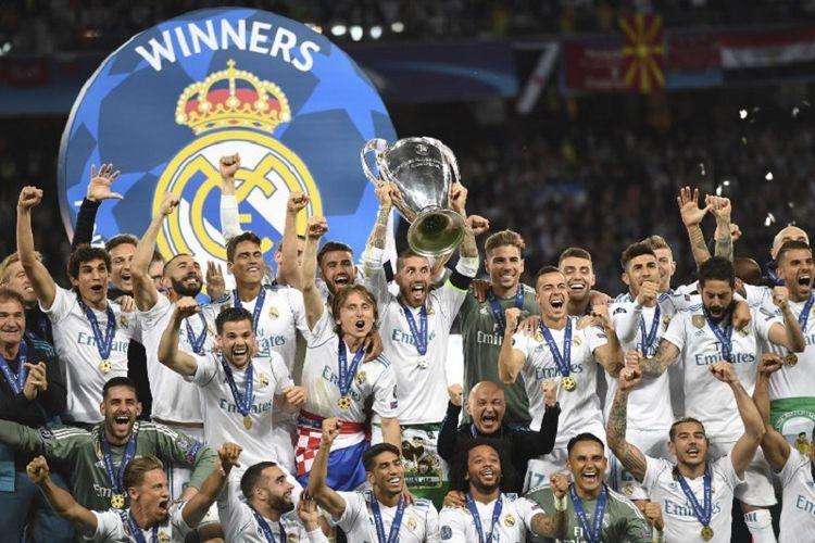 លទ្ធផលរូបភាពសម្រាប់ gambar piala champion real madrid