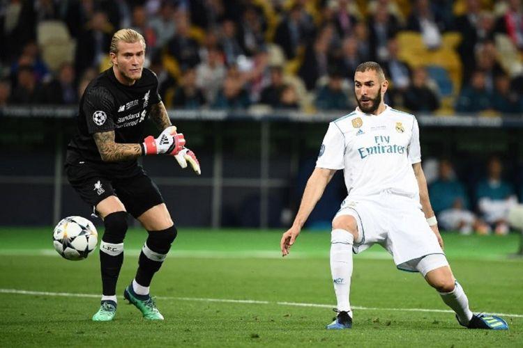 Blunder Loris Karius menjadi awal petaka Liverpool pada laga final Liga Champions kontra Real Madrid di Kiev, 26 Mei 2018.