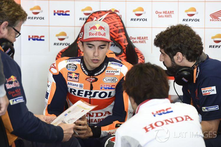 Marc Marquez, pebalap tim pabrikan Honda.