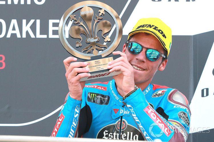 Joan Mir berhasil podium ketiga di GP Italia 2018, dan akan menjadi pebalap tim pabrikan Suzuki musim 2019.
