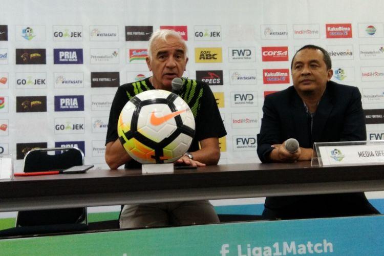 Liga 1, Alasan Mario Gomez Istirahatkan Igbonefo Saat Persib Menang