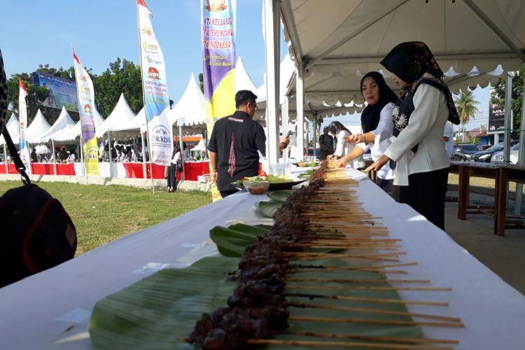 Festival sajian sate terbanyak di Kabupaten Kaur, Bengkulu