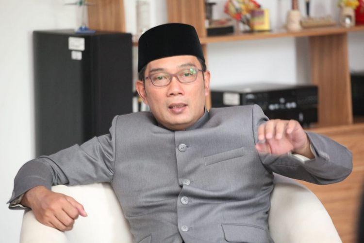 Wali Kota Bandung Ridwan Kamil saat ditemui di Pendopo Kota Bandung Jalan Dalemkaum, Jumat (31/8/2018).