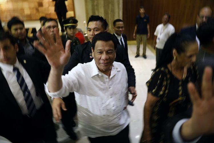 Presiden Filipina Rodrigo Duterte tiba Jerusalem untuk mengawali kunjungan resminya ke Israel, Minggu (2/9/2018).