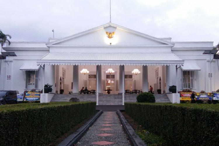 Gedung Pakuan atau rumah dinas gubernur Jawa Barat