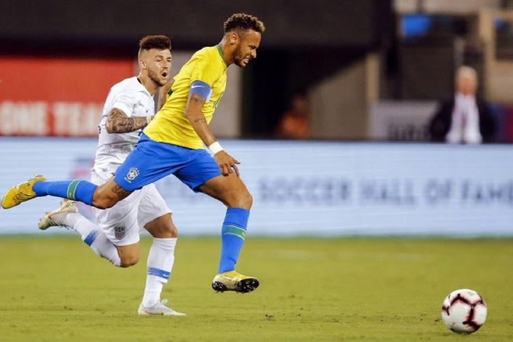 De Javu Neymar Saat Brasil Kalahkan Amerika Serikat