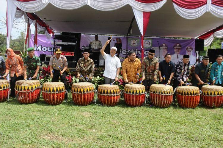 Pembukaan festival bukit dan lembah di Kabupaten Kepahiang, Provinsi Bengkulu