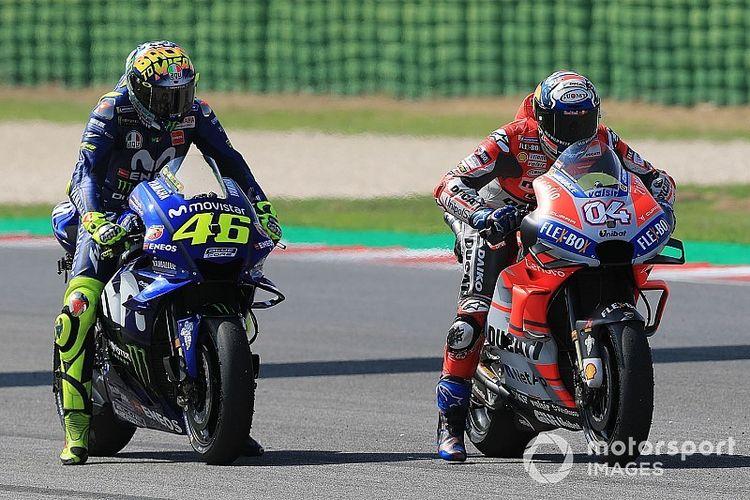 Yamaha dan Ducati.