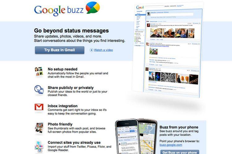 ilustrasi Google Buzz
