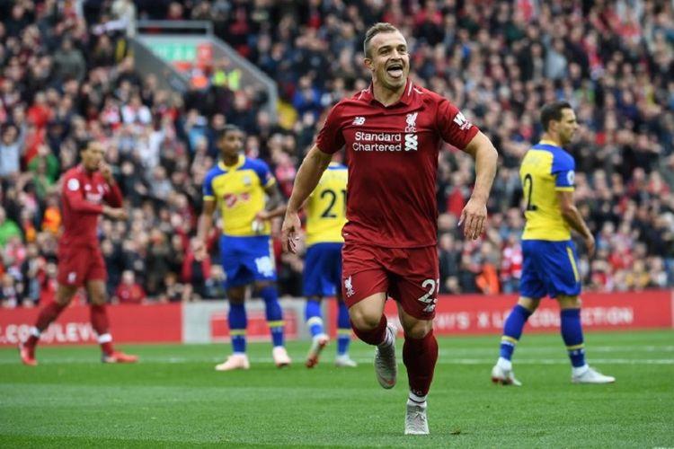 Hindari Konflik, Liverpool Tak Bawa Xherdan Shaqiri ke Serbia