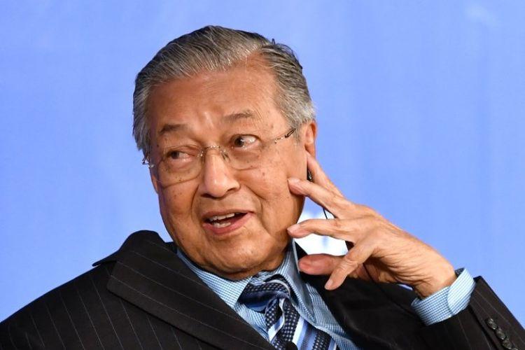 Perdana Menteri Malaysia Mahathir Mohamad. (AFP/Kazuhiro Nogi)