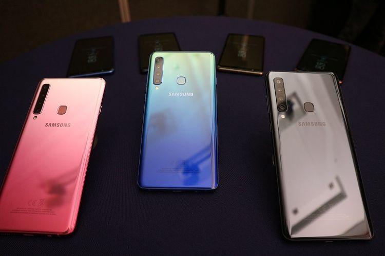 Samsung Galaxy A9, Smartphone 4 Kamera Belakang Pertama di Dunia