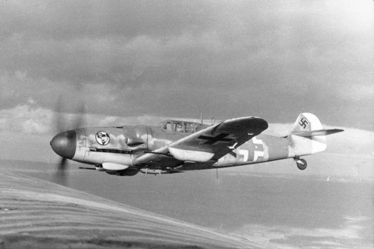 Bf 109 fighter