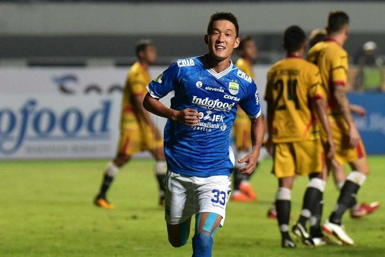 Gelandang Persib Bandung In Kyun Oh