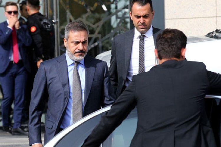 Kepala Intelijen Turki Hakan Fidan. Dia dilaporkan memberikan keterangan kepada Senat Amerika Serikat terkait pembunuhan jurnalis Jamal Khashoggi.