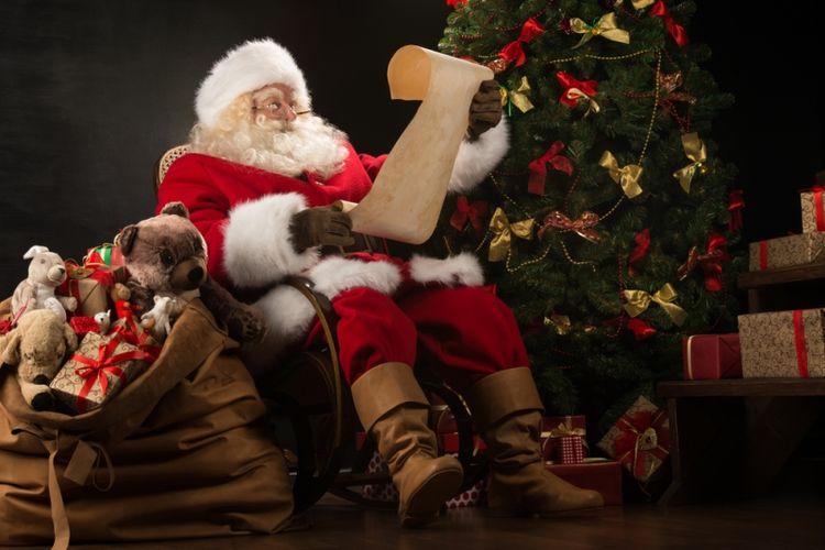 Ilustrasi Sinterklas. (Shutterstock)