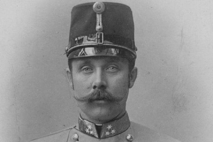 Franz Ferdinand, pangeran dan pewaris takhta Kekaisaran Austria-Hongaria.
