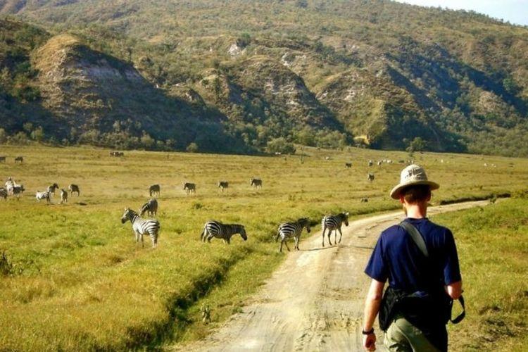 Hells Gate National Park Kenya.