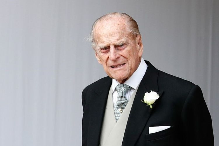 Duke of Edinburgh, Pangeran Philip. (AFP/ALASTAIR GRANT)