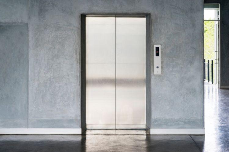Ilustrasi lift. (Shutterstock)