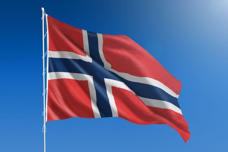 Bendera Norwegia. (Shutterstock)