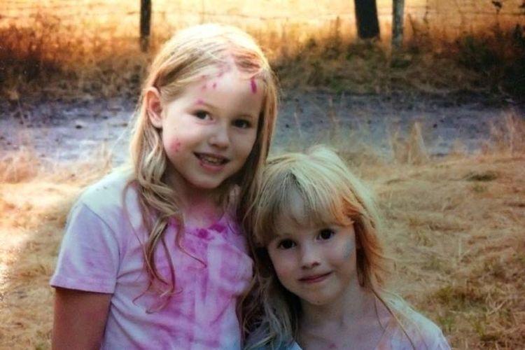 Caroline Carrico (kanan) dan Leia Carrico (kiri) tersesat selama 44 jam di hutan di Humboldt County, California, AS. (Facebook/Humboldt County Sheriffs Office)