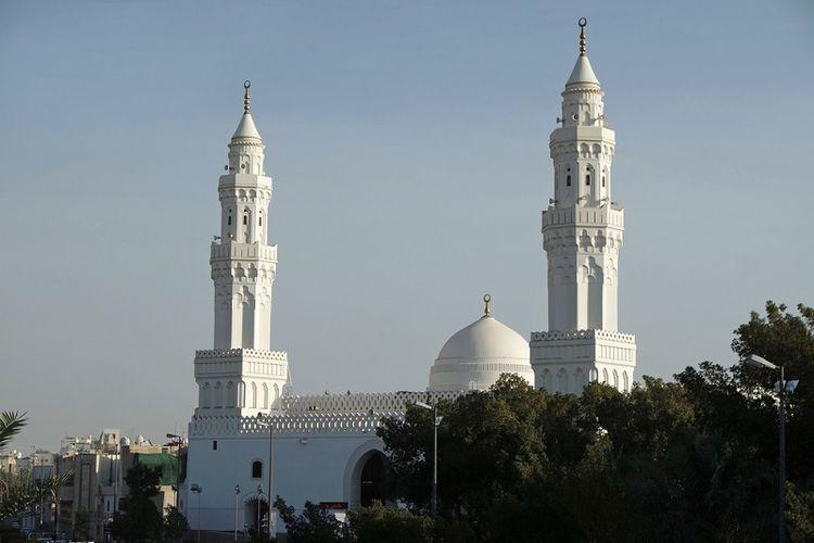Masjid Qiblatain di Madinah, Arab Saudi. (Shutterstock)