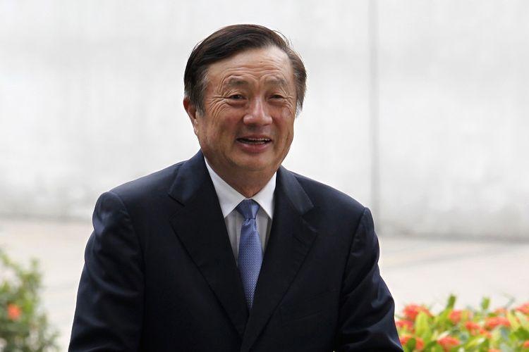 CEO dan pendiri Huawei Ren Zhengfei. (Reuters/Bobby Yip)