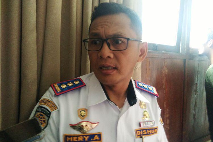 Kepala Dinas Perhubungan Jabar Heri Antasari saat ditemui di Gedung Sate, Jalan Diponegoro, beberapa waktu lalu.