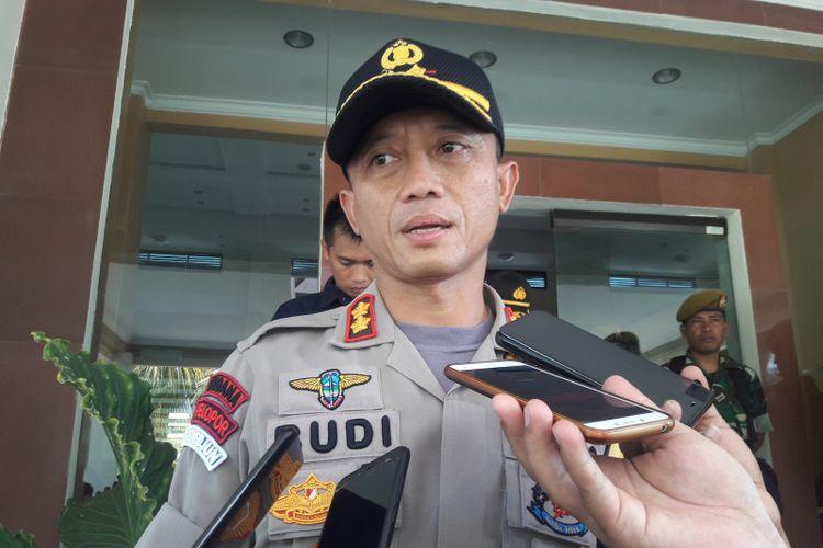 Kapolres Garut AKBP Budi Satria wiguna saat diwawancara Rabu (22/5/2019)