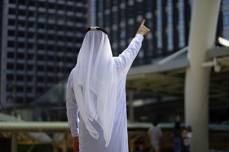 Ilustrasi pria Arab. (Shutterstock)