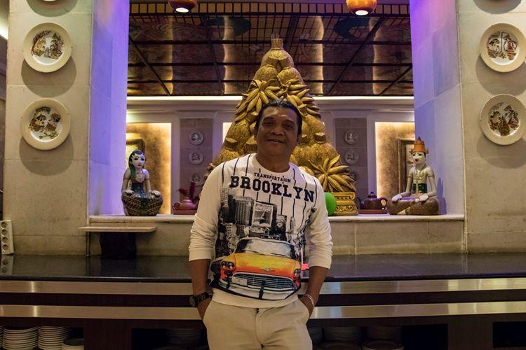 Didi Kempot saat berbincang bersama Kompas.com, Kamis (18/7/2019).