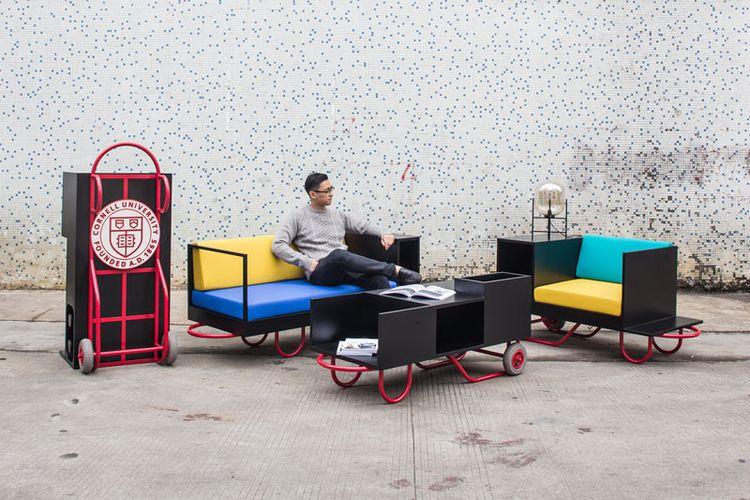 Perabot portabel menghemat ruang dan memudahkan saat pindah